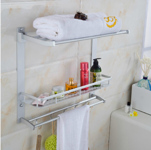 Movable Bathroom shower shelf convenient rack with hook accessories Space  aluminum Bathroom Accessories Towel rack. Compare Prices on Movable Shower  Online Shopping Buy Low Price