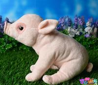 Plush Toy Cute Bama Pig Doll Simulation Boar Animals Kids Toys Christmas Gifts