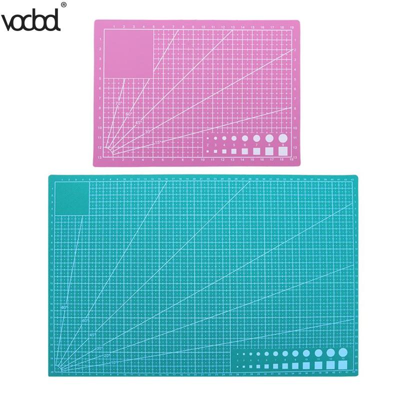 A3 A5 Pvc Cutting Mat Diy Craft Patchwork Cut Pad Diy Tool