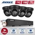 Sistema de seguridad 4ch annke 1080n grabador de vídeo y (4) 1280tvl impermeable cámaras de vigilancia con ir-cut incorporado