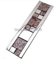 LSYX5615 Glass Border For Wall Kitchen Backsplash Tiles Kitchen Backsplash Glass Border