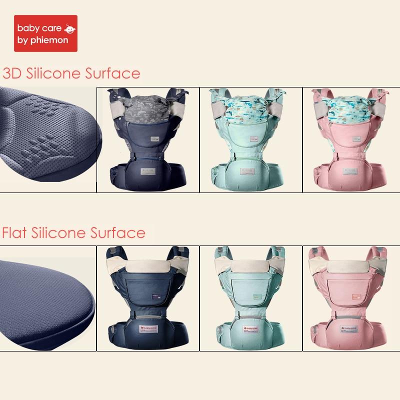 Babycare Adjustable Baby 3D Waist Stool Ergonomic Safety Carrier 360 Four Position Hipseat  Infant Newborn Sling Carriers Belt