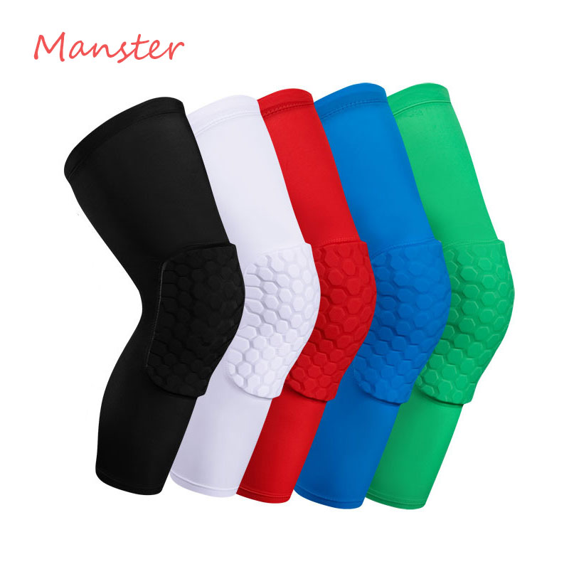 1 PCS Hot Anti-collision Sports Knee Brace Climbing Riding Running Kneecap Badminton Football Basketball Knee Protector