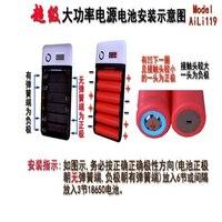 1 sztuk kingwei nowa bateria storage case box uchwyt ładowania banku mocy z tworzywa sztucznego do 4x18650 baterie + usb kable biały hurtownie