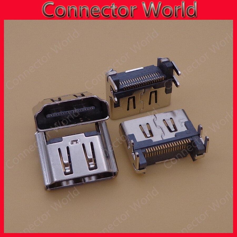 50PCS lot micro usb jack socket charging port repair Perfect HDMI Port Socket Interface Connector for