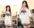 NEW  Summer Women's Sexy Sling/Nightwear wearing loose pyjamas silk chiffon lace Nightdress Indoor Clothing Home Suit Sleepwear