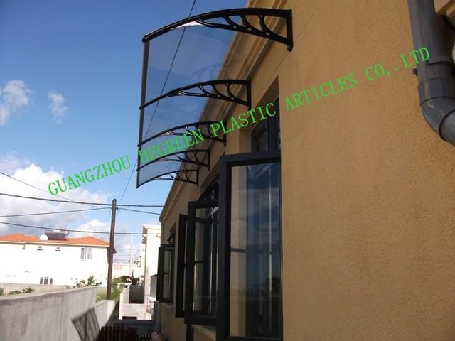 YP80100 80x100 cm 31.5x39in, engenharia de plástico suporte de policarbonato pátio cobre, revestimentos de janela dossel
