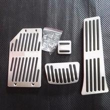 Dee acessório para kia sorento cadenza k7 k5 pé resto no acelerador pedal de freio almofada, estilo do carro adesivos cobre nenhuma broca