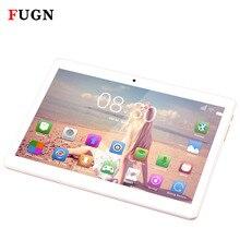 Fugn 4 г Телефонный звонок Планшеты PC Octa Core 10.1 дюймов 1920*1080 IPS Android Нетбуки MT6592 4 ГБ оперативной памяти 64 ГБ ROM Dual SIM Портативный Планшеты