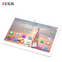 FUGN 4G Phone Call Tablet PC Octa Core 10.1 inch 1920*1080 IPS Android Netbook MT6592 4GB Ram 64GB Rom Dual SIM Portable Tablet