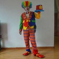 Halloween Costumes Masquerade Magician Clown Clothes Suit Tuxedo Dress Clown Circus Clown Costume Men S Clothing