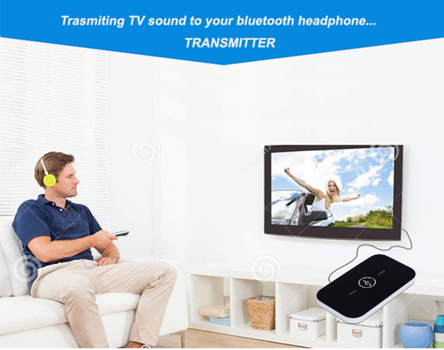 B6 bluetooth wireless audio receiver and transmitter 2in1 adapter  3
