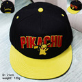 hot game pokemon Pikachu baseball hats women girls cartoon anime yellow summer caps CA291