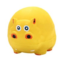 Soft Dog Throwing Ball Toy Pet Dog Training Train Sound Chew Squeak Toys Dogs Cats Supplies Dog Accessories