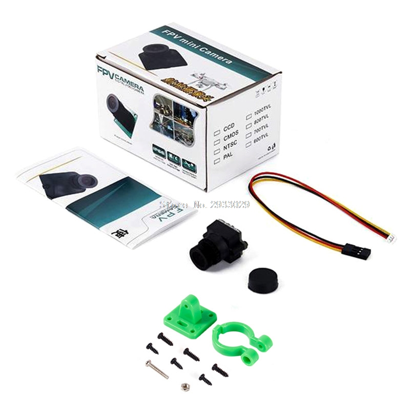 HD 1000TVL 2.8mm Mini FPV Quadcopter Camera Video For RC QAV210/180/250 -B116 aomway 1200tvl 960p ccd hd mini camera 2 8mm lens for fpv
