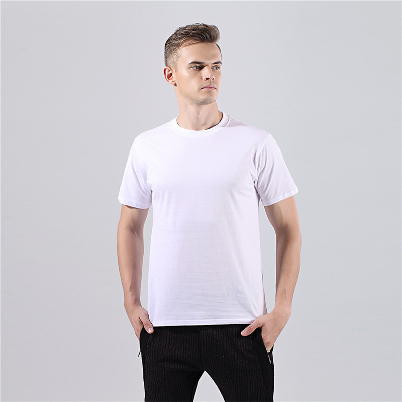 2018 New Solid color T Shirt Mens Black And White 100% cotton T-shirts Summer Skateboard Tee Boy Skate Tshirt Tops casual tshirt