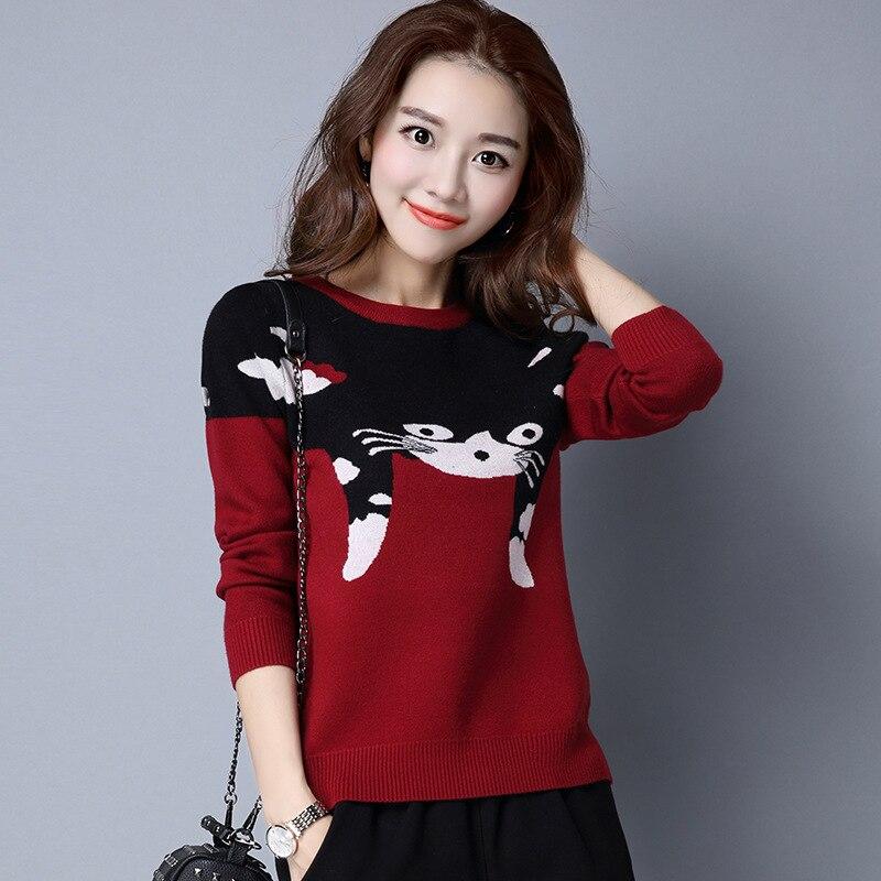 2016 winter new Korean women's pullovers sweaters women ...