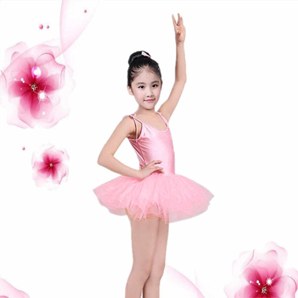 b907942b8e489 MUQGEW Toddler Strap Girl Gauze Leotard Ballet Bodysuit Dancewear Dress  Clothes Outfits Fashion baby girls Costumes