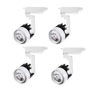 Image 1 - 4pcs/lot 20W 30W COB LED Track Light aluminum Ceiling Rail Spot lights For Clothes Shop Shoes Store Track Rail Lighting