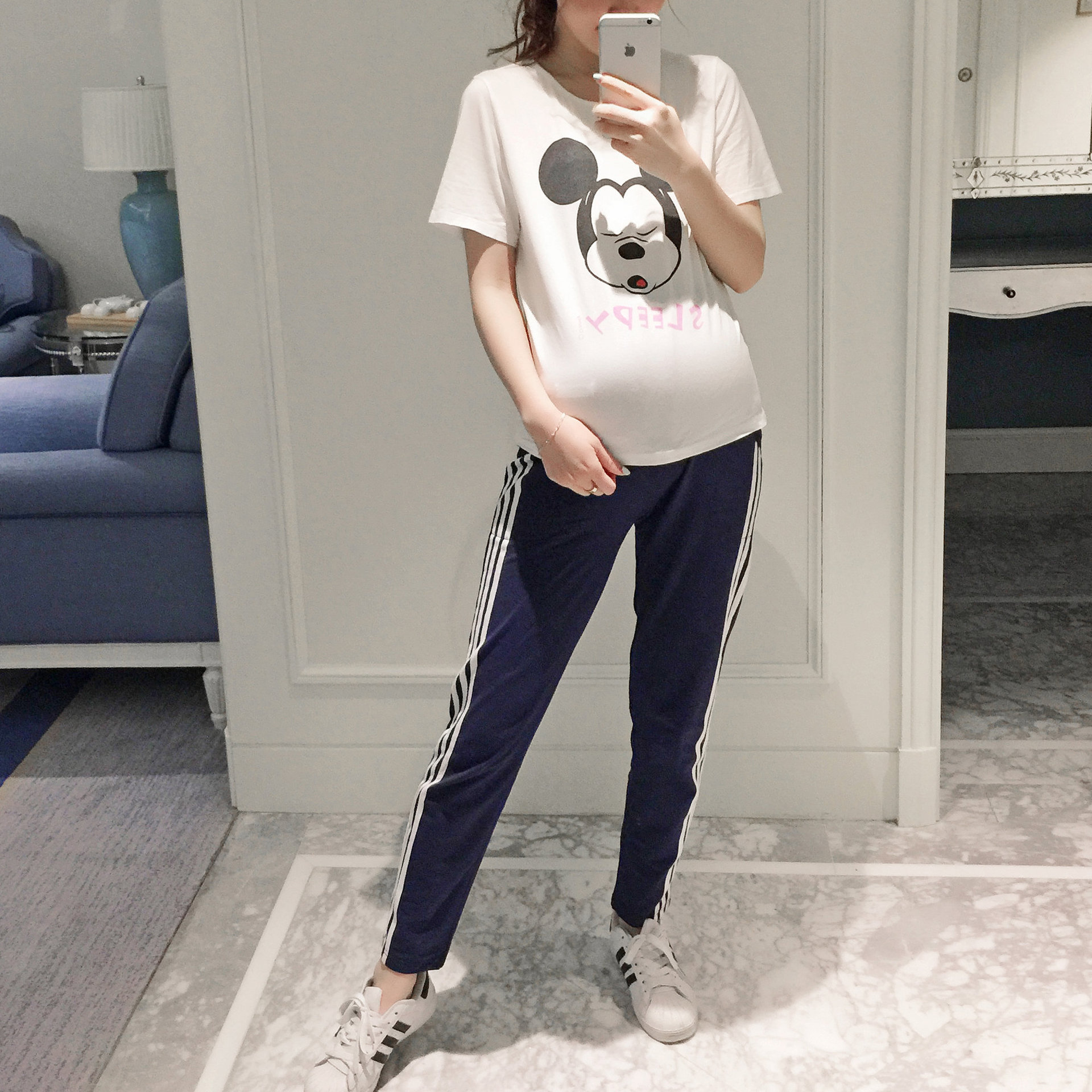 Pregnancy sports pants