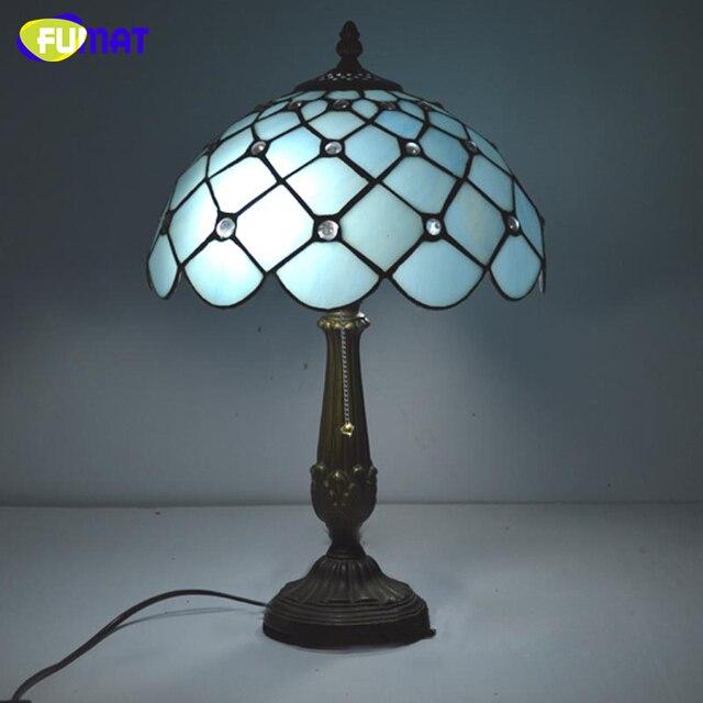 FUMAT Fabrik versorgungsbuntglas tischlampe Tiffany Mittelmeer ...