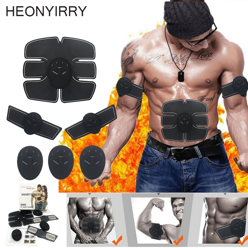 Facial Body Muscle Stimulator EMS Exerciser Trainer Slimming Health Machine for font b Weight b font