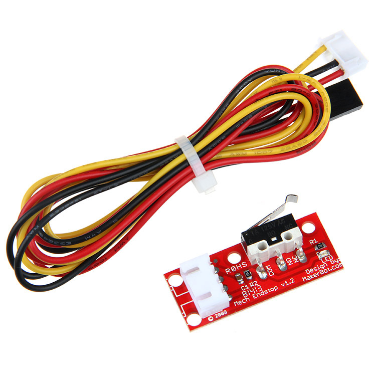 Freeshipping 3D Printer Mechanical Limit Switch Module V1.2 End Stop EndStop RAMPS 1.4 6pcs ramps 1 4 optical endstop limit light control switch 3d printer new y103