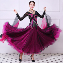 Ballroom Competition Dance Dresses Women New Design High Quality Standard Ballroom Dancing Dress Adult Ballroom Dresses standard ballroom dresses women 2019 new design white waltz dancing skirt adult high quality ballroom competition dance dress