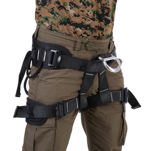 Image 1 - Professional Thicken Strong Seat Safety Belt Rock Climbing Bust Harness Rappelling Mountaineering Caving Rescue