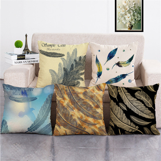 Wholesale Wedding Gift Pillow Cover Southern Europe Retro Falling