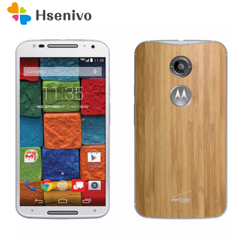 Original Motorola Moto X 2nd Gen XT1096 Mobile Phone 5.2 Touch Screen 2GB RAM 16GB ROM 3G&4G GPS WIFI cell phone refurbished