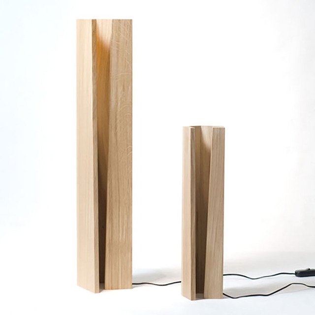 Creative Small Gifts Diy Decor LED Strip Wood Table Lamp For Computer Desk  Bedroom Living Room Part 88