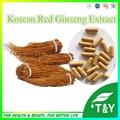 Cuidados de Saúde Natural Do Produto Ginseng Vermelho Coreano Extrato Da Cápsula 500 mg * 400 pcs