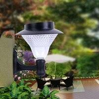 Pure/Warm White Solar Power 16 LED Solar Light Outdoor Garden Light Yard Pathway Waterproof IP44 Security Wall Lamp