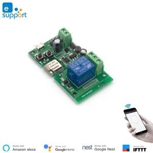 Image 4 - EweLink smart USB 5V DIY 1 Channel Jog Inching Self locking WIFI Wireless Smart Home Switch Remote Control with Amazon Alexa