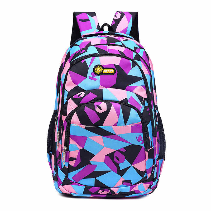 Junior High School Backpacks For Girls Primary Kids Book Bags High Quality Large Capacity School Bags For Children Boys Mochila