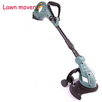 18V Li ion battery Cordless grass trimmer reel mower lawn mower telescopic handle mower pruning Garden power tools ET2803