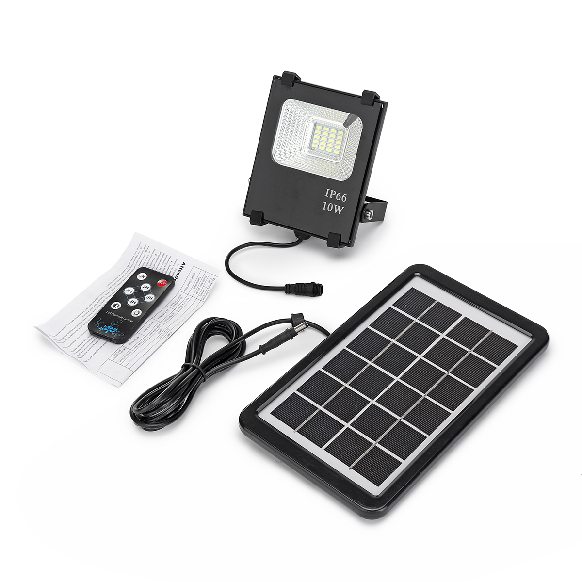 20 LED Solar Power Flood Light Remote Control Outdoor Waterproof Garden Path Lamp Street Light Outdoor Lighting Solar Lamps 3 7v 1000mah 22 led remote control solar lamp hooking camp garden lighting outdoor indoor m25