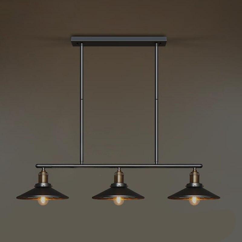 Loft Vintage Pendant Lights RH Bar Lamps Nordic Industrial Pendant Lamps Black Inside With Mirror E27 110V/220V Home LightingLoft Vintage Pendant Lights RH Bar Lamps Nordic Industrial Pendant Lamps Black Inside With Mirror E27 110V/220V Home Lighting