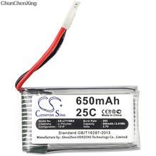 Cameron sino 650 mah bateria para cheerson CX-30W, para huajun W609-10, W609-9, para jjrc h5c, h9d, para wltoys v931