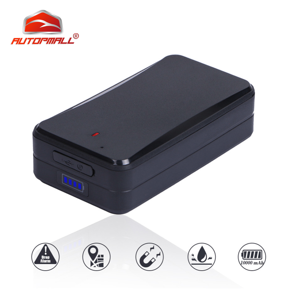Magnetic Car Tracker GPS Concox AT4 10000mAh Waterproof IPX5 Vehicle Tracker Rastreador Voice Monitor Tamper Alert