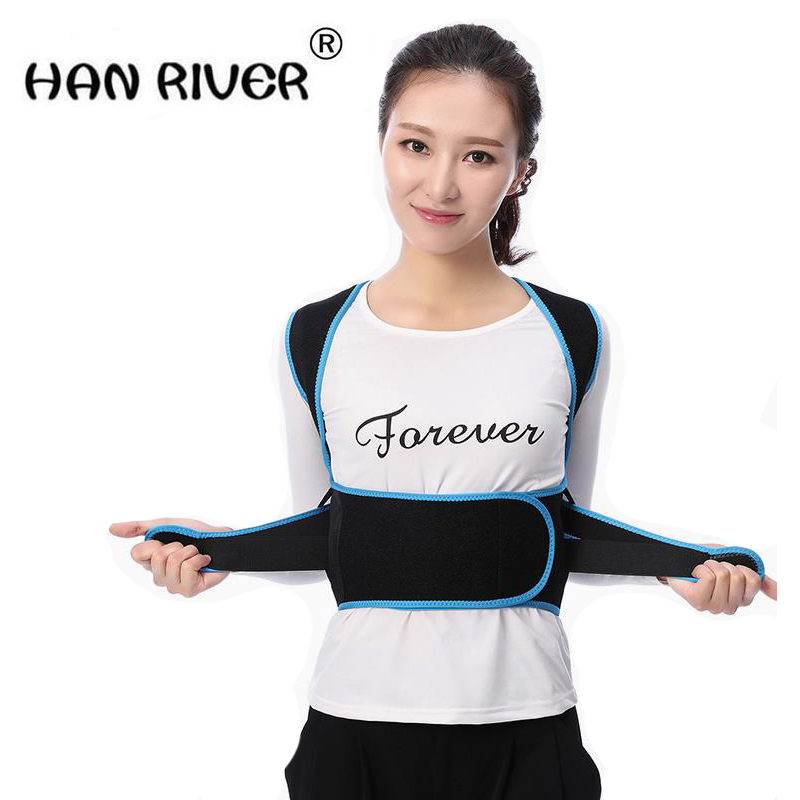 HANRIVER Posture orthotics adult male and female students correcting kyphosis correction with the charm of back JiaoZi belt point systems migration policy and international students flow