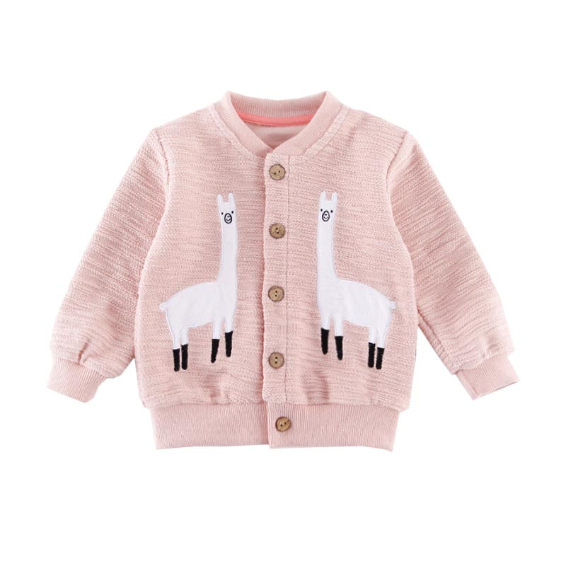 Cartoon Kids Coat New Baby Sweater Outerwear Boy Girl Sweaters Children Cardigan Spring Autumn Fashion Girl's Boy Sweatshirts