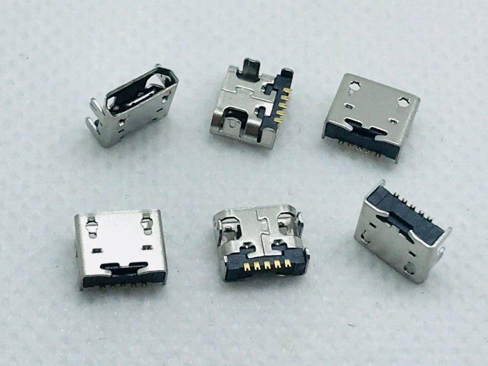 Micro USB Charging Port Jack 10PCS Original New Good Quality Female Connector LG E400 L3 L5 L7 L9 P770 P880 F180 Nexus4
