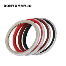 DONYUMMYJO Genuine Leather Steering Wheel Cover Auto Sparkly Diamond Decoration Women Girl Handle Covers Gift For Mercedes Audi