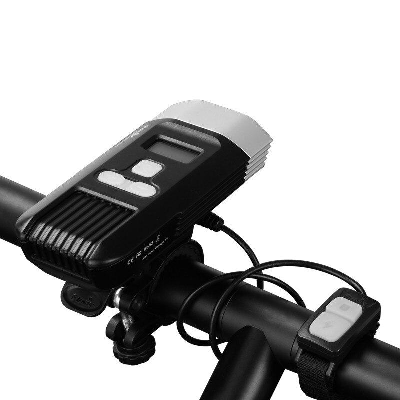 2017 NOUVEAU Fenix BC30R Cree XM L2 U2 LED haute intensité vélo lumière USB chargeur construire dans la batterie au lithium écran OLED livraison gratuite - 5