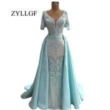 ZYLLGF Elegant Long Dresses With Cap Sleeve Bride Dress