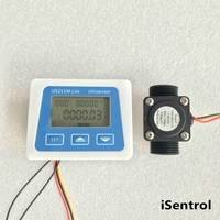 Us211m lite USN-HS43TA 1-60l/min leitor de fluxo 5 v medidor de fluxo digital compatível com todo nosso sensor de fluxo  sem temperatura