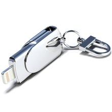 Novel Lightning USB Flash Drive 32GB 64GB 128GB Pendrive 64GB 16GB For iPhone Pen Drives U Stick For iPad Mac PC Memory Stick