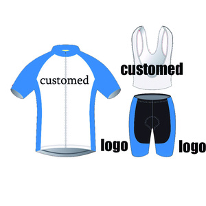 2019 Customized cycling jersey men customed bicycle clothing 3D Gel Pad maillot/road bike wear funny jersey braetan(China)
